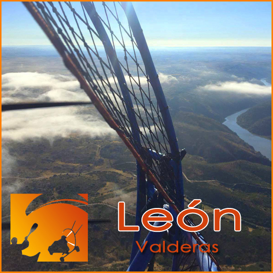 Volar en Parapente con Motor - León