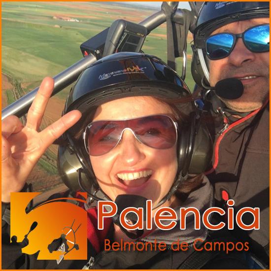 Volar en Parapente con Motor - Palencia