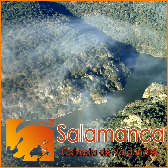 Volar en Parapente con Motor - Salamanca