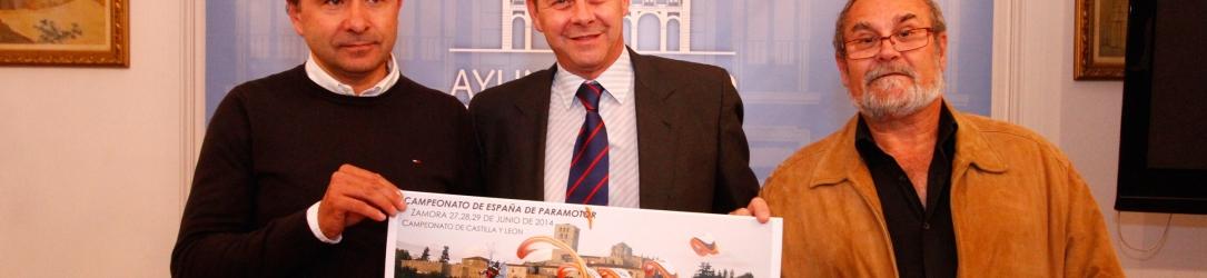 Presentación del Campeonato de España de Paramotor
